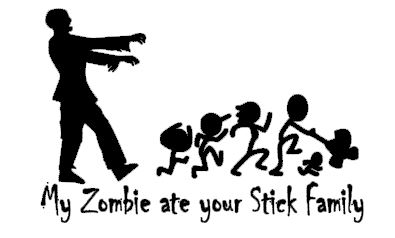 My Zombie ate your Stick Family