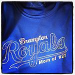 BRAMPTON ROYALS MOM TSHIRT