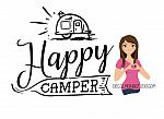 Happy Camper - With Trailer