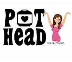 Instant Pot Decal - Pot Head