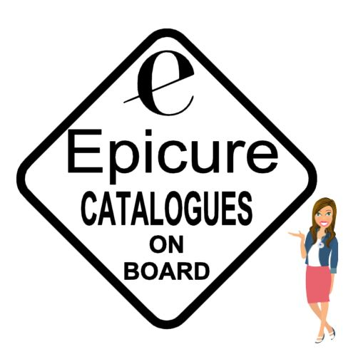 Epicure Catalogues on Board