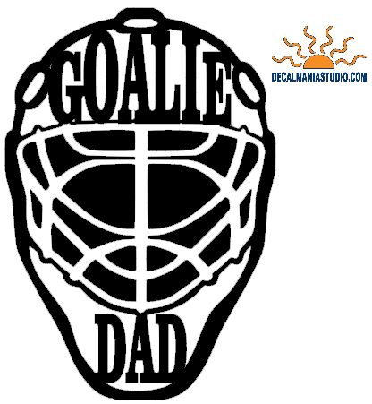 Goalie Dad Mask