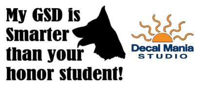 My GSD is smarter than your Honor Student