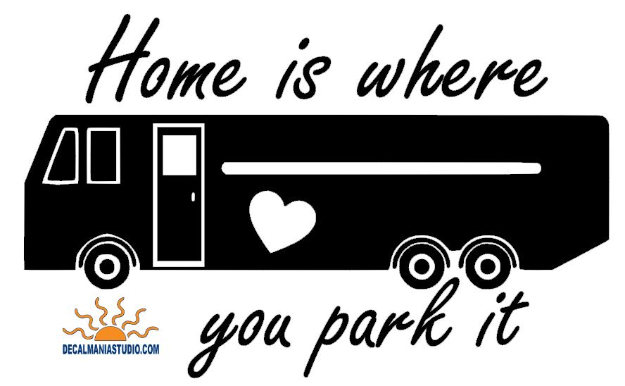 Home is where you park it (Motor-coach) Heart
