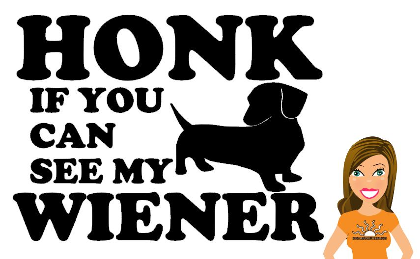 Honk if you can see my Wiener
