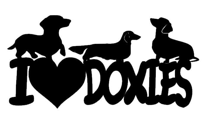 I love (heart) Doxies
