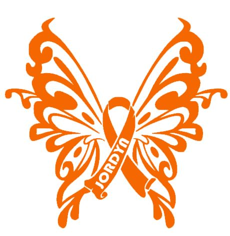 Jordyn's Butterfly - Charity Decal