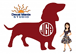 Monogram Short Haired Doxie