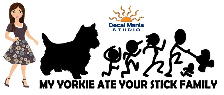 My Yorkie ate your Stick Family