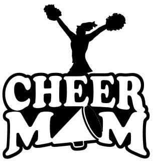 Sports Mom Decal - Cheer (Pom Pom)