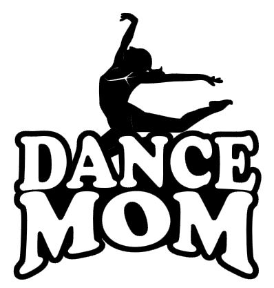 Sports Mom Decal - Dance