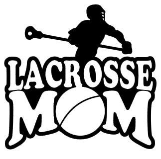 Sports Mom Decal - Lacrosse