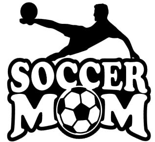 Sports Mom Decal - Soccer